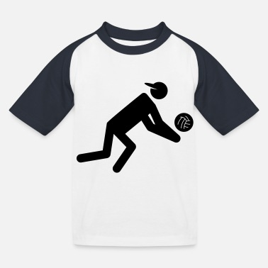 Volley volley - Kids' Baseball T-Shirt