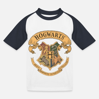 Harry Potter Hogwarts Wappen - Kinder Baseball T-Shirt