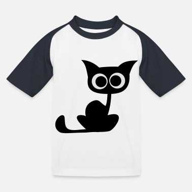 Sweet Cat new - Kids' Baseball T-Shirt