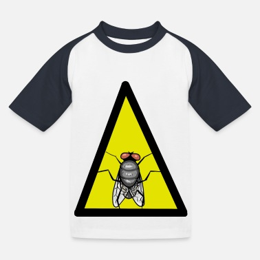 Fly Fly Fly Insect insect animals - Kids' Baseball T-Shirt