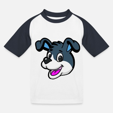 Watchdog Watchdog Dogs Bello - Kids' Baseball T-Shirt