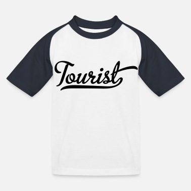 Tourist tourist - Kids' Baseball T-Shirt