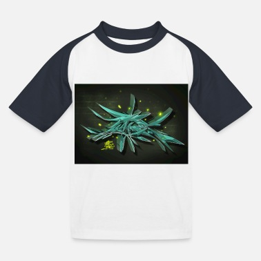graffiti - Kids' Baseball T-Shirt