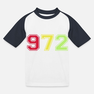 972 - T-shirt baseball Enfant