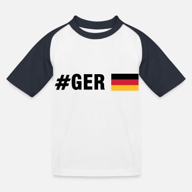 Ger #GER (3c) - Kids' Baseball T-Shirt
