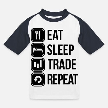 Trade trade - Kids' Baseball T-Shirt