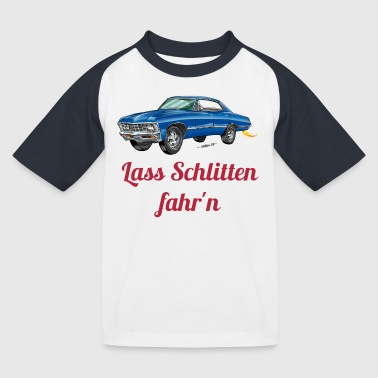 US Car - Kinder Baseball T-Shirt
