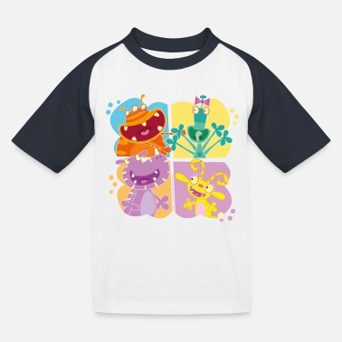 Officialbrands Gut gebrüllt, liebe Monster Monsterschüler - Kinder Baseball T-Shirt