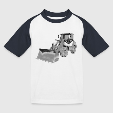 wheel loader - T-shirt baseball Enfant