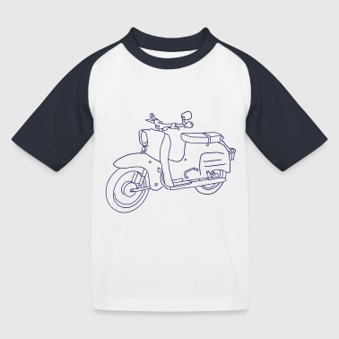 Scooter Simson Schwalbe - Kids' Baseball T-Shirt