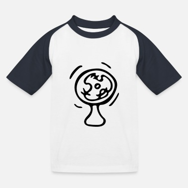 Fan fan - Kinderen baseball T-shirt