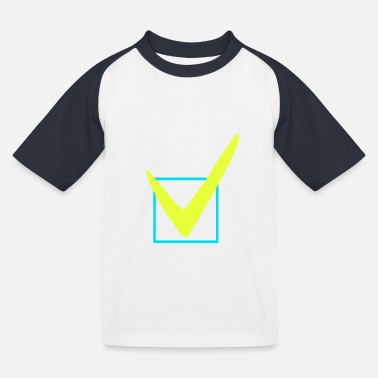 Check mark icon - Kids' Baseball T-Shirt