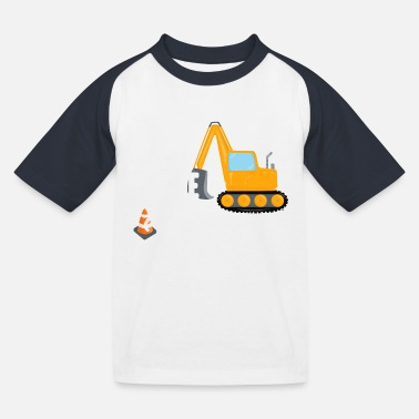 Trade Trade sister for excavator sister brother funny - Kids' Baseball T-Shirt