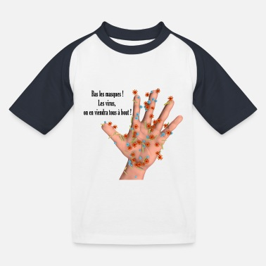 virus - T-shirt baseball Enfant