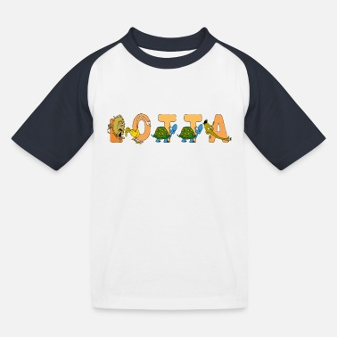 Lotta Lotta - Kinder Baseball T-Shirt