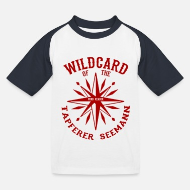 Wildcard - Brave Sailor's Fantastic OOTD - Kids' Baseball T-Shirt