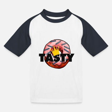 Tasty donut - Kids' Baseball T-Shirt