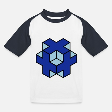 Object 3d object - Kids' Baseball T-Shirt