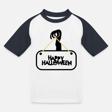 Militaire Halloween happy halloween - T-shirt baseball Enfant