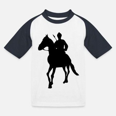 Sikh Warrior - Kids' Baseball T-Shirt