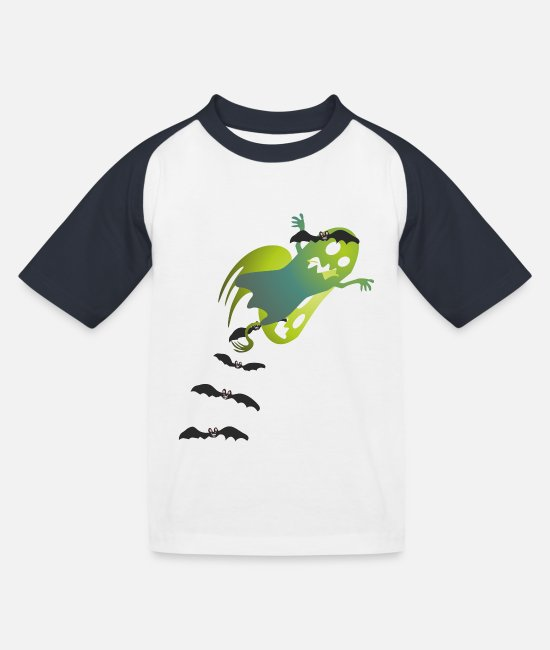 2019 T-Shirts - Ghost / Ghost - Kids' Baseball T-Shirt white/navy