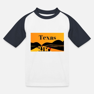 Texas Texas - Kinder Baseball T-Shirt
