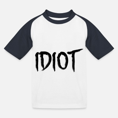 Idiot IDIOT - Baseball T-shirt barn