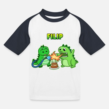 Filip Filip birthday gift - Kids' Baseball T-Shirt