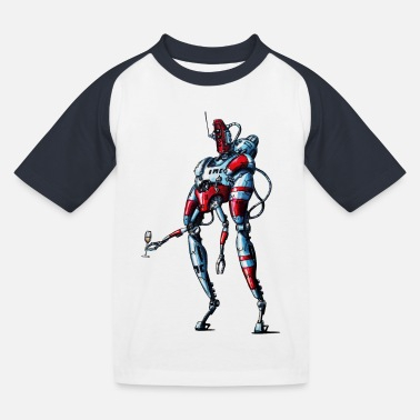 Android Robot - Kids' Baseball T-Shirt