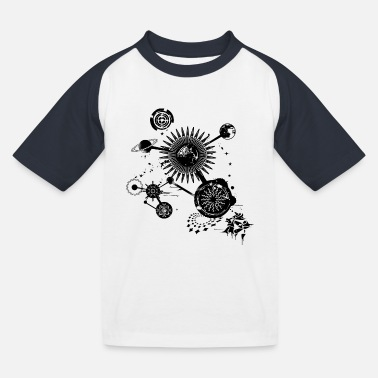 Constellation A planetary constellation - Kids' Baseball T-Shirt
