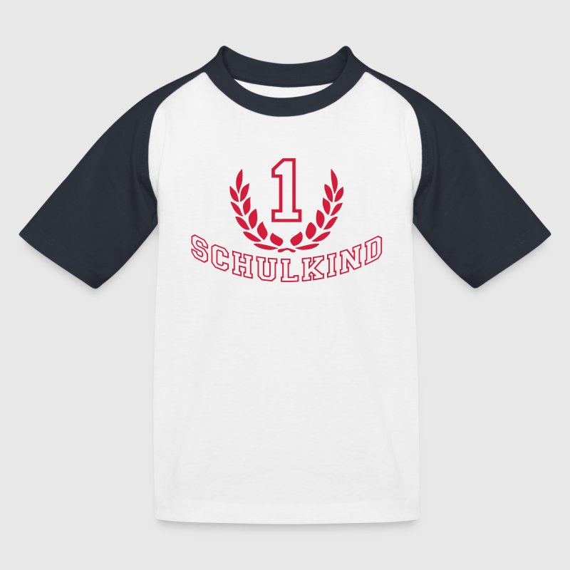 Schulkind College Style - Kinder Baseball T-Shirt