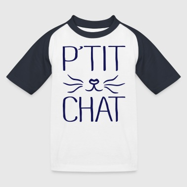 P'tit Chat - T-shirt baseball Enfant