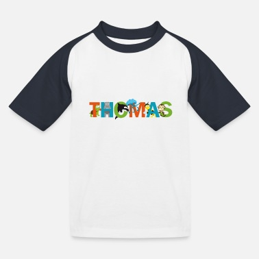 Thomas Thomas - T-shirt baseball Enfant