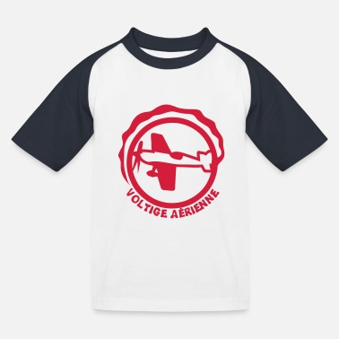 Logo voltige avion aerienne logo club1 - T-shirt baseball Enfant