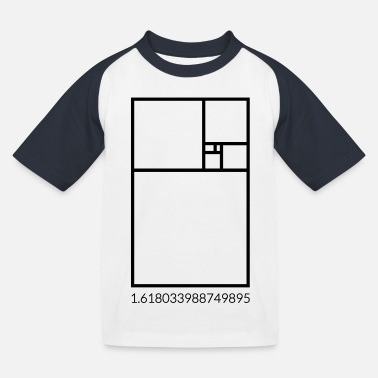 Fibonacci - Kinder Baseball T-Shirt