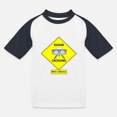 Radar Radar - Kids' Baseball T-Shirt