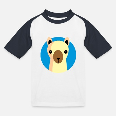 Cool Llama Llama - Cool - Gift - Summer - Kids' Baseball T-Shirt
