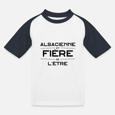 Alsacienne - T-shirt baseball Enfant