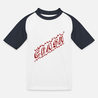Baem crash - Kids' Baseball T-Shirt