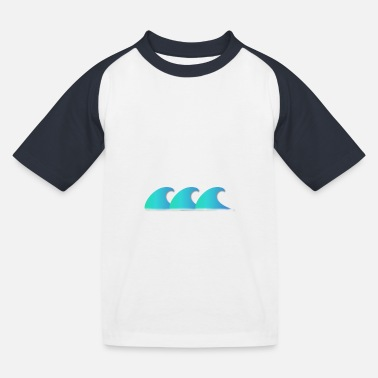 May it be some sea? imprint - Kids' Baseball T-Shirt