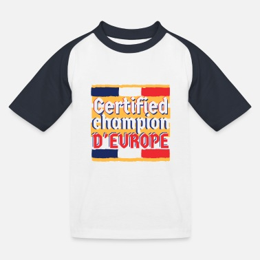Champion Deurope champion d'europe france - T-shirt baseball Enfant