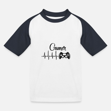 Gamer - Kids' Baseball T-Shirt