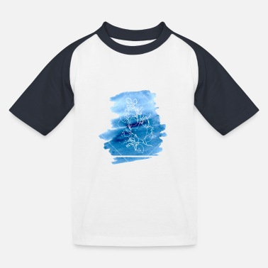 Blue Flower - T-shirt baseball Enfant