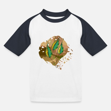 Colorful Leaves Colorful leaves - Kids' Baseball T-Shirt