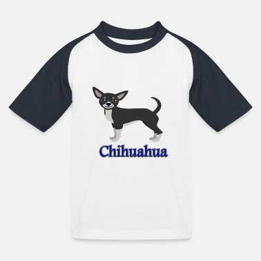 Chihuahua dogs love - Kids' Baseball T-Shirt