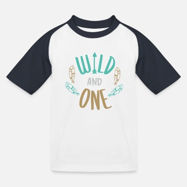 Wild and one - Kids' Baseball T-Shirt