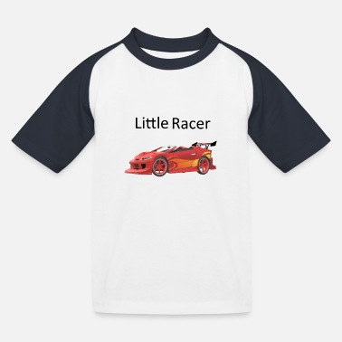 Litte Boy Litte Racer - Kids' Baseball T-Shirt