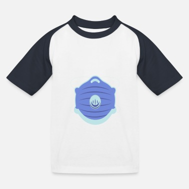 Mouth and face protection - Kids' Baseball T-Shirt