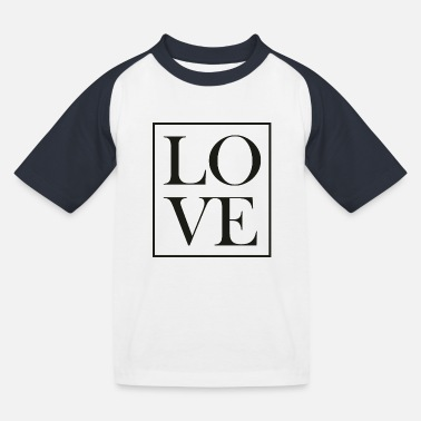 LOVE - Kids' Baseball T-Shirt