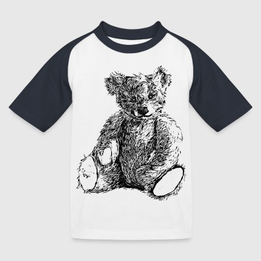 Teddybär - Kinder Baseball T-Shirt